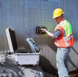 concrete scanning image