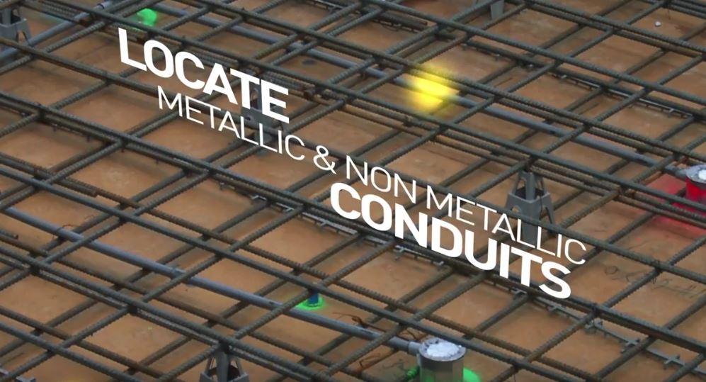 Locate metallic and non metallic conduits