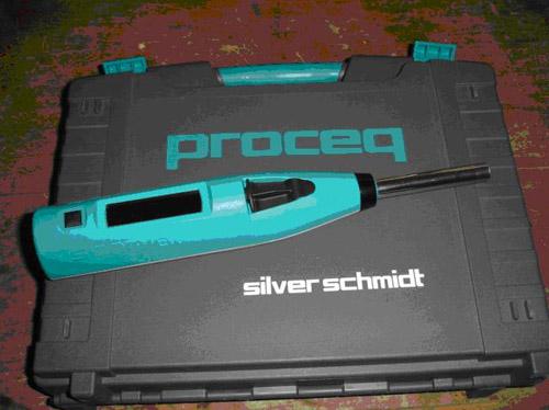 strength of concrete measurement proceq