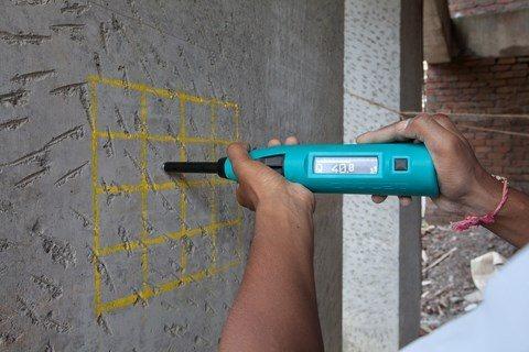 strength of concrete measurement
